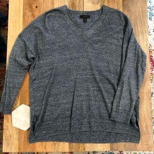 Jcrew Blue/Grey Merino Sweater